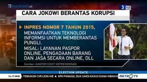 Cara Jokowi Berantas Korupsi