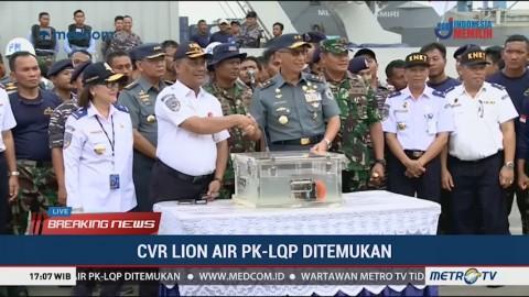 CVR Lion Air Diserahkan ke KNKT
