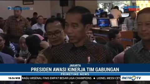 Jokowi Dukung Penuntasan Kasus Novel