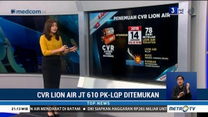 Kronologi Penemuan CVR Lion Air JT610 PK-LQP