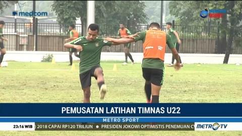 Timnas U-22 Keluhkan Kualitas Rumput Lapangan Latihan