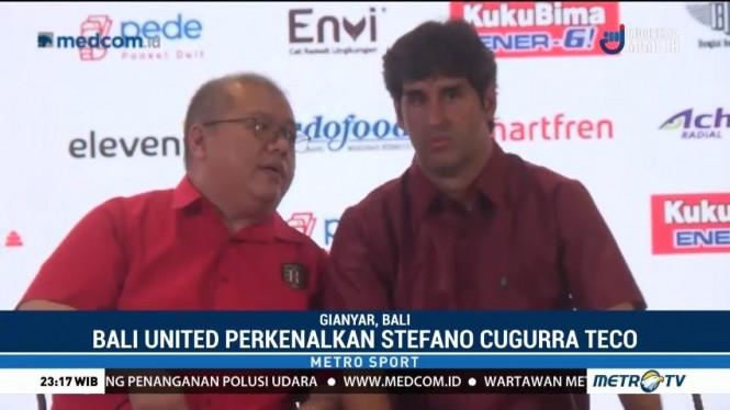 Stefano Cugurra Teco Latih Bali United