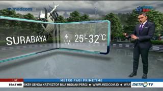 Prakiraan Cuaca: Selasa, 15 Januari 2019