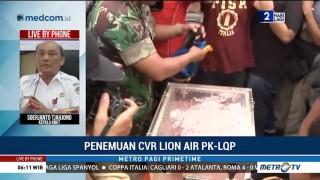 Begini Tahapan Analisa CVR Lion Air PK-LQP oleh KNKT