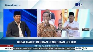 Debat Harus Berikan Pendidikan Politik