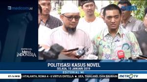 Politisasi Kasus Novel