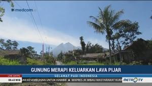 Aktivitas Gunung Merapi Cenderung Menurun