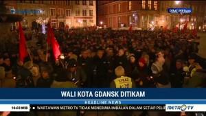 Warga Gdansk Berduka untuk Wali Kota Pawel Adamowicz