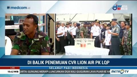 Di Balik Penemuan CVR Lion Air PK-LQP (2)