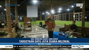 Relawan Jokowi-Ma'ruf di Bandung Barat Targetkan 1 Juta Suara Milenial