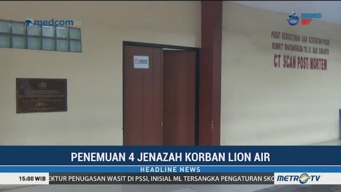 RS Polri Kembali Terima Empat Kantong Jenazah Korban Lion Air PK-LQP
