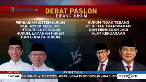 Adu Sakti Visi Misi Jokowi vs Prabowo di Bidang Hukum