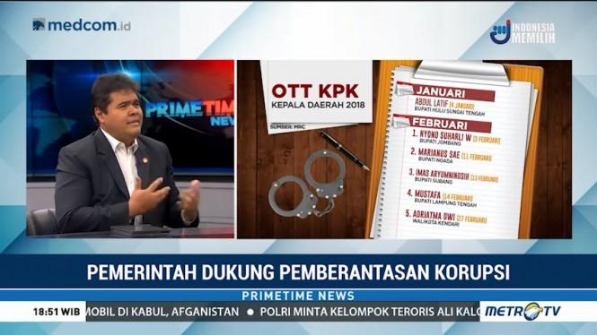 Presiden Tidak Campuri Kewenangan KPK Berantas Korupsi