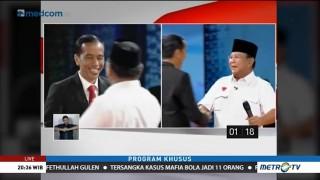 Momen Menarik Debat Capres 2014