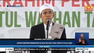 TGB: Jokowi Tetap Tulus Bekerja Meski Terus Difitnah