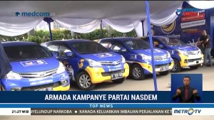 Partai NasDem Resmi Luncurkan Armada Kampanye