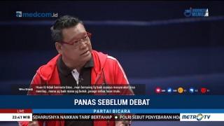 Panas Sebelum Debat (3)