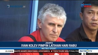Ivan Kolev Pantau Latihan Persija