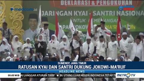 JKSN Sumenep Deklarasi Dukung Jokowi-Ma'ruf