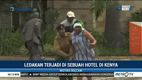 Baku Tembak dan Ledakan Terjadi di Hotel Kenya