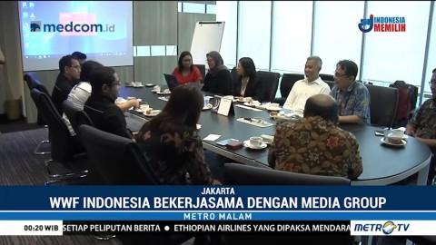 WWF Indonesia Gandeng Media Group Tingkatkan Kesadaran Lingkungan