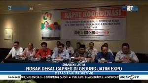 TKD Jokowi-Ma'ruf di Jatim akan Gelar Nonton Bareng Debat Capres