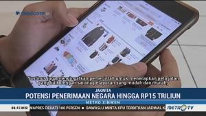 Pajak E-Commerce Berpotensi Tingkatkan Penerimaan hingga Rp15 T