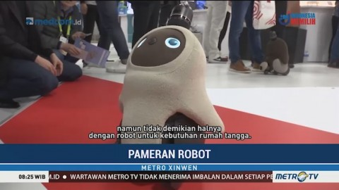 Robot Rumah Tangga Dipamerkan di Consumer Electronics Show 2019