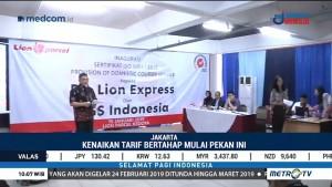 Tarif Kargo Lion Air Naik