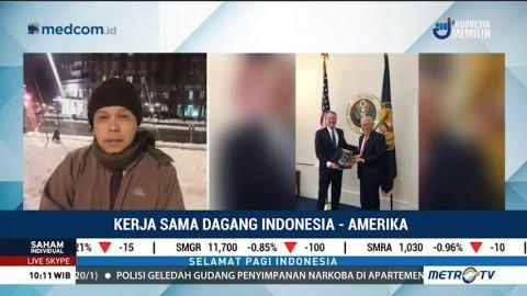 AS Lanjutkan Fasilitas GSP untuk Komoditas Indonesia