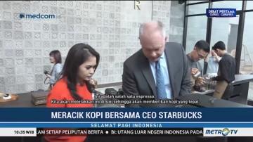 Meracik Kopi Bersama CEO Starbucks