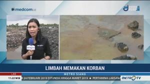 Tercium Aroma Menyengat dari Lokasi Pembuangan Limbah di Bekasi