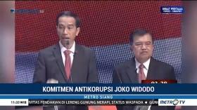 Komitmen Antikorupsi Joko Widodo