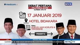 Hotel Bidakara Bersiap untuk Debat Pilpres 2019