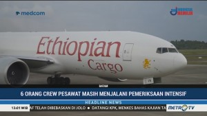 Pesawat Asing yang Dipaksa Mendarat di Batam Angkut Sejumlah Komponen