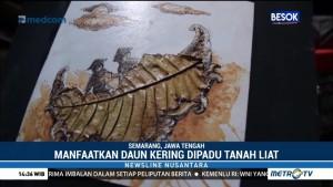 Lukisan dari Limbah Daun