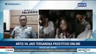 Vanessa Angel Jadi Tersangka Kasus Prostitusi Online