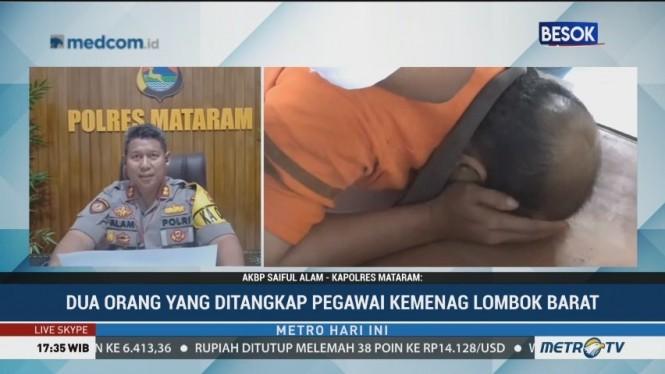 Dua PNS Kemenag Lombok Barat Jadi Tersangka Pungli