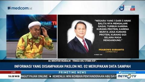 Ngabalin Sebut Pidato Prabowo Jauh dari Fakta