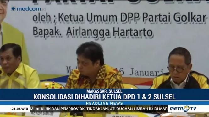 Golkar Sulsel Siap Menangkan Jokowi-Ma'ruf