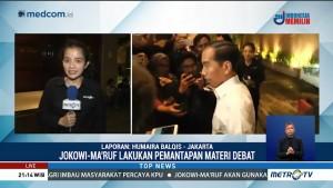 Jokowi-Ma'ruf Lakukan Pemantapan Materi Debat
