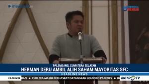 Gubernur Sumsel Ambil Alih Saham Mayoritas Sriwijaya FC