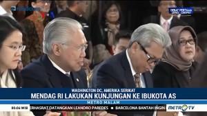 Indonesia Perkuat Hubungan Perdagangan dengan AS