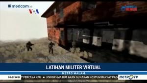 Latihan Militer Virtual Sebelum ke Medan Perang