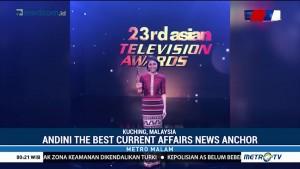 Andini Effendi Raih Penghargaan di Asian Television Awards 2018