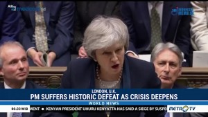 British PM Suffers Historic Defeat as Crisis Deepens