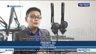 Freddy Su Tetap Semangat Menggapai Impian Meski Dianggap Gila