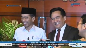 Ditanya Persiapan Debat, Jokowi: Mantul!