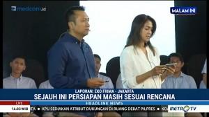 Dua Kubu Capres Jalani Gladi Bersih Debat Perdana