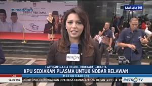 KPU Siapkan Layar Besar di Lokasi Debat Perdana Pilpres